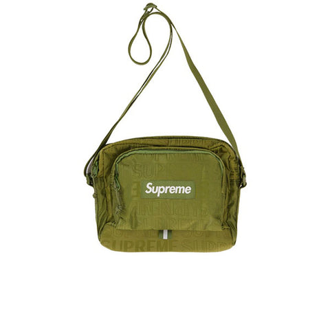 SUPREME SHOULDER BAG OLIVE SS19