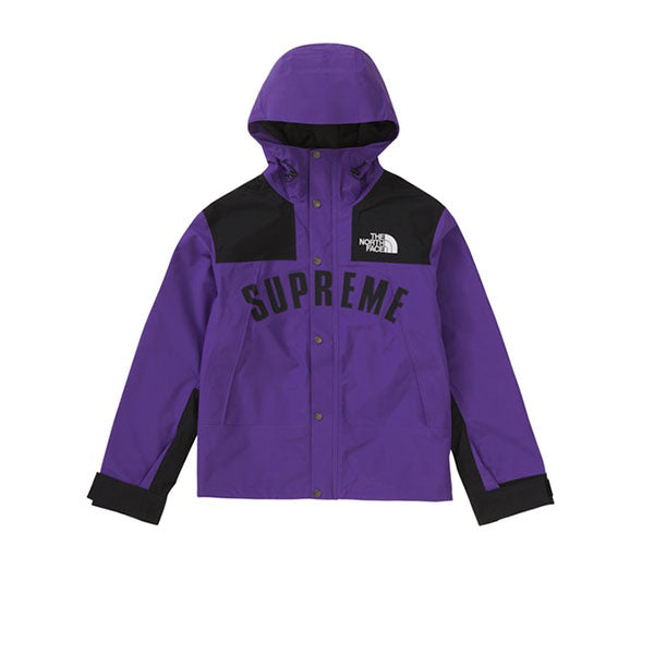 SUPREME THE NORTH FACE ARC LOGO MOUNTAIN PARKA PURPLE SS19