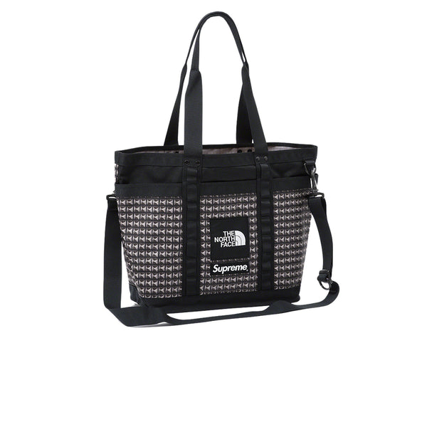 THE NORTH FACE X SUPREME STUDDED EXPLORE UTILITY TOTE BLACK SS21