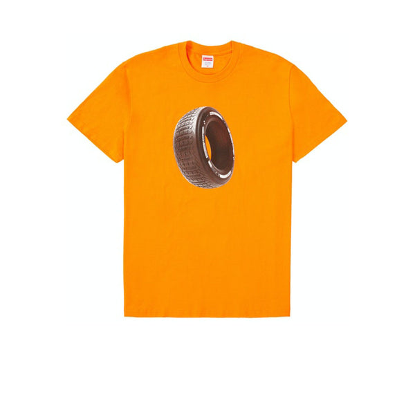 SUPREME TIRE TEE ORANGE FW20