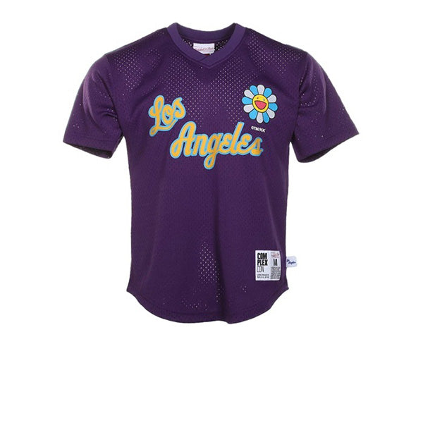 TAKASHI MURAKAMI COMPLEXCON X LA LAKERS M&N S/S BP JERSEY PURPLE FW19
