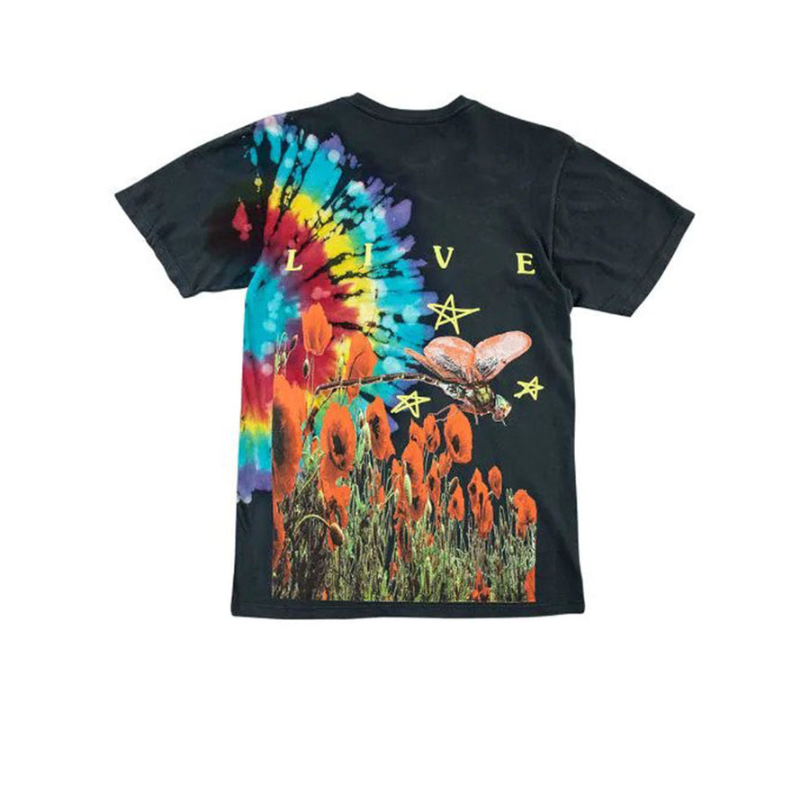 TRAVIS SCOTT LIVE IN EUROPE TEE BLACK