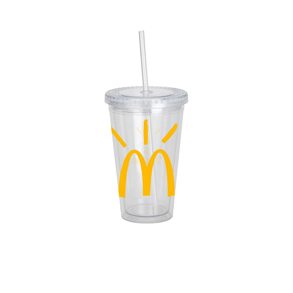 TRAVIS SCOTT X MCDONALD'S CJ ARCHES CUP CLEAR