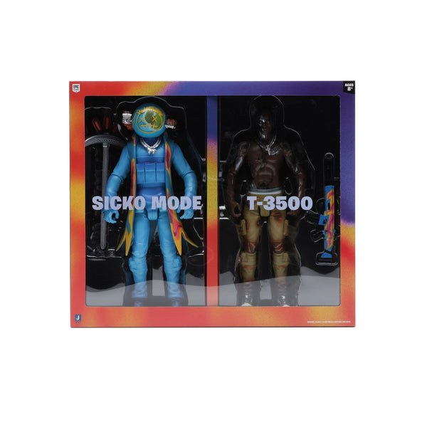 "TRAVIS SCOTT CACTUS JACK FORNITE 12"" ACTION FIGURE DUO SET"
