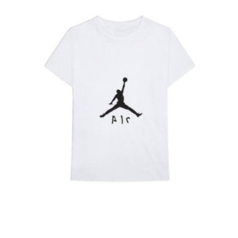 TRAVIS SCOTT X JORDAN JUMPMAN TEE WHITE SS18