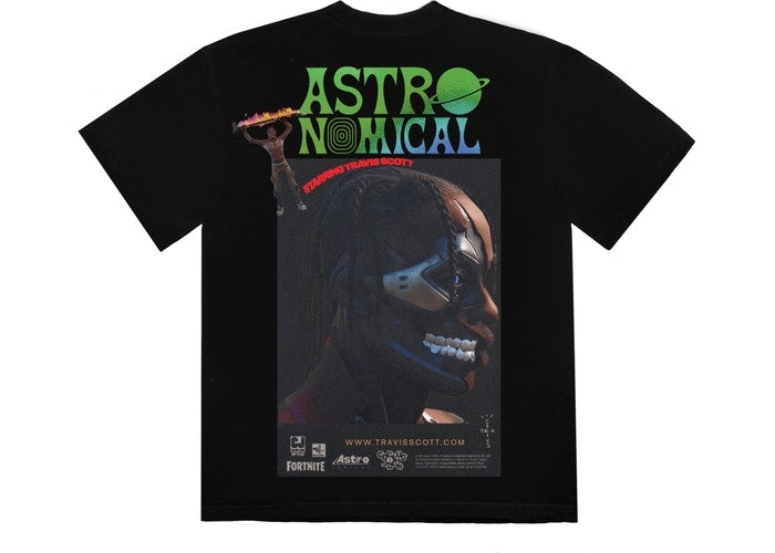 TRAVIS SCOTT THE SCOTTS SICKO EVENT T-SHIRT II BLACK SS20