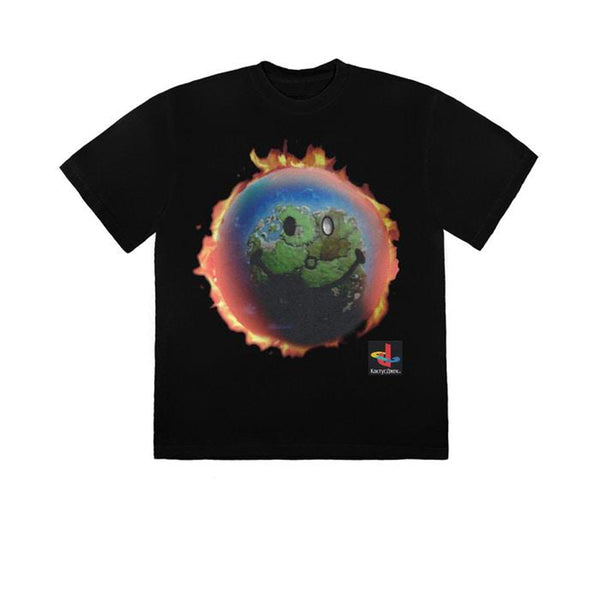TRAVIS SCOTT THE SCOTTS WORLD T-SHIRT BLACK SS20