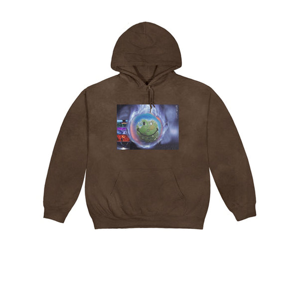 TRAVIS SCOTT WORLD EVENT HOODIE BROWN SS20