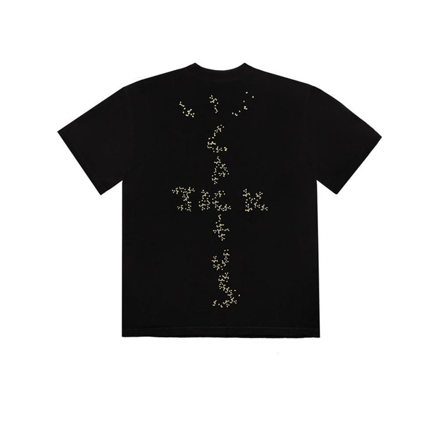 TRAVIS SCOTT X MCDONALD'S SESAME II TEE BLACK