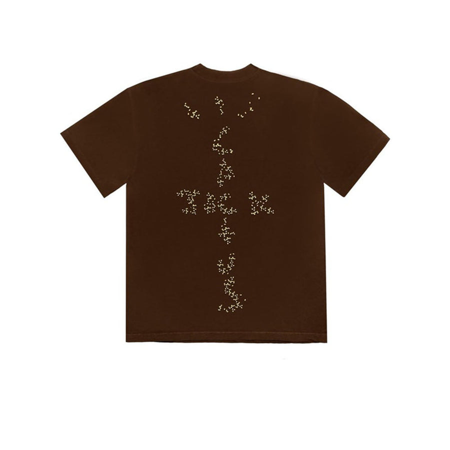 TRAVIS SCOTT X MCDONALD'S SESAME III TEE BROWN