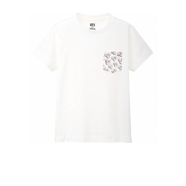 KAWS X UNIQLO BFF POCKET TEE WHITE SS19