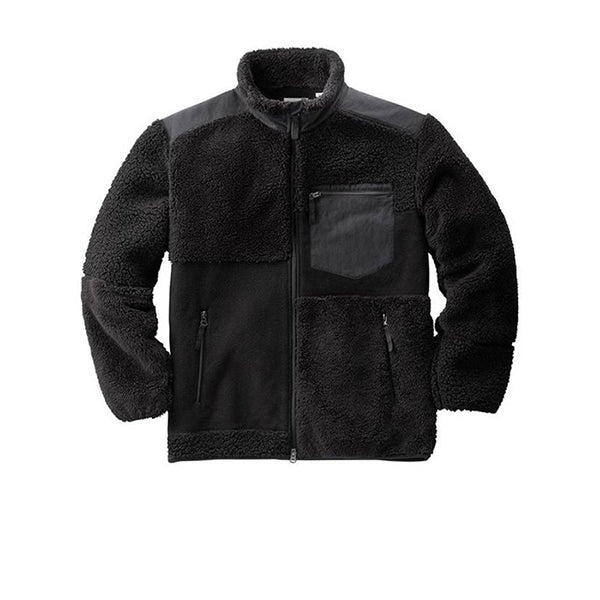 UNIQLO X ENGINEERED GARMENTS FLEECE COMBINATION JACKET BLACK