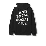 ANTI SOCIAL SOCIAL CLUB X UNDEFEATED CLUB BLACK HOODIE