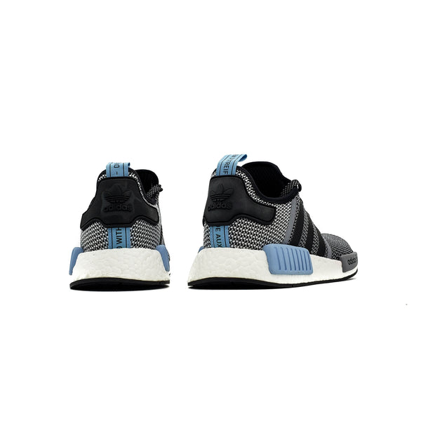 "ADIDAS NMD R1 ""BLACK/CLEAR BLUE"""