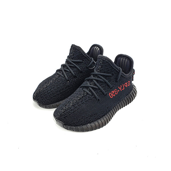 "ADIDAS YEEZY BOOST 350 V2 ""BLACK/RED"" INFANT 2017 BB6372"