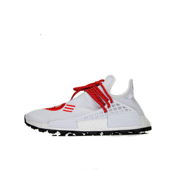 "ADIDAS NMD HU PHARRELL HUMAN MADE ""WHITE RED"""