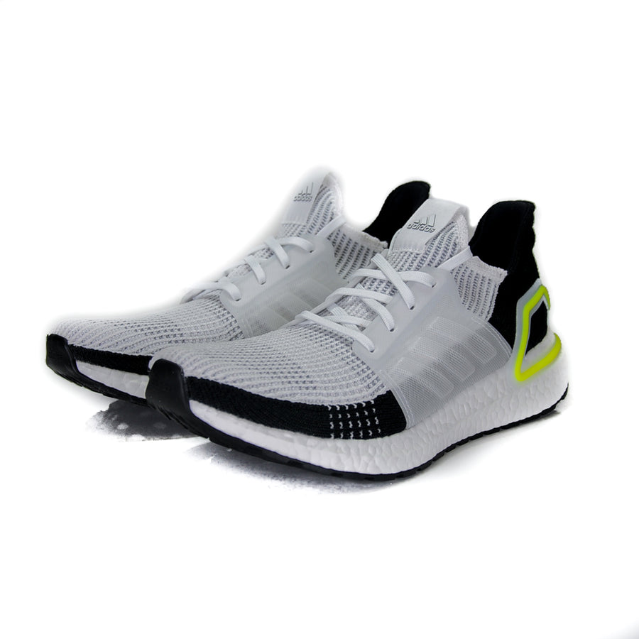 "ADIDAS ULTRA BOOST 19 ""WHITE BLACK VOLT"""