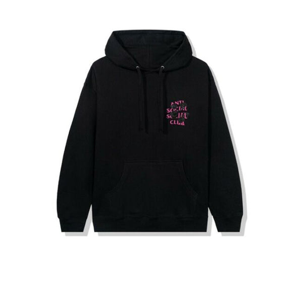 ANTI SOCIAL SOCIAL CLUB CORN CHEESE HOODIE BLACK