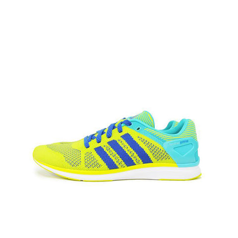 "ADIDAS ADIZERO FEATHER PRIME "" SOLAR YELLOW"" B44575"