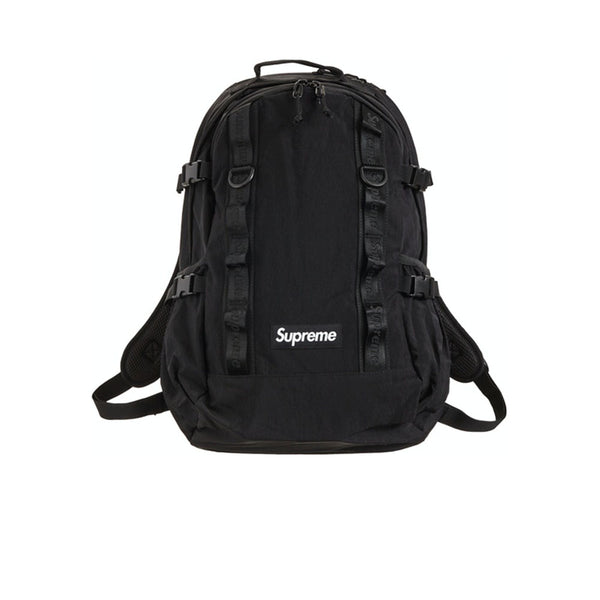 SUPREME BACKPACK BLACK FW20