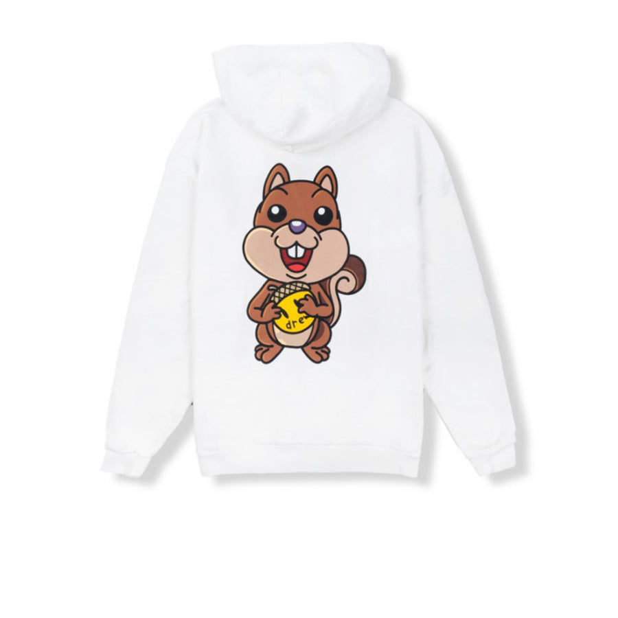 DREW HOUSE SQUIRREL ZIP-UP HOODIE OFF WHITE