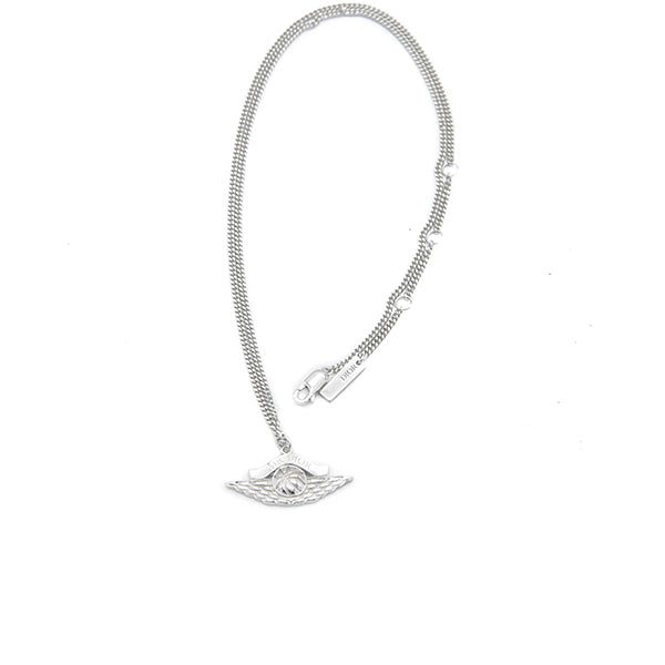 AIR DIOR NECKLACE SILVER