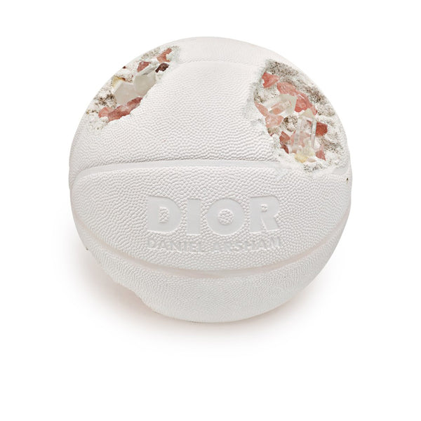 DIOR X DANIEL ARSHAM FUTURE RELIC ERODED BASKETBALL SCULPTURE