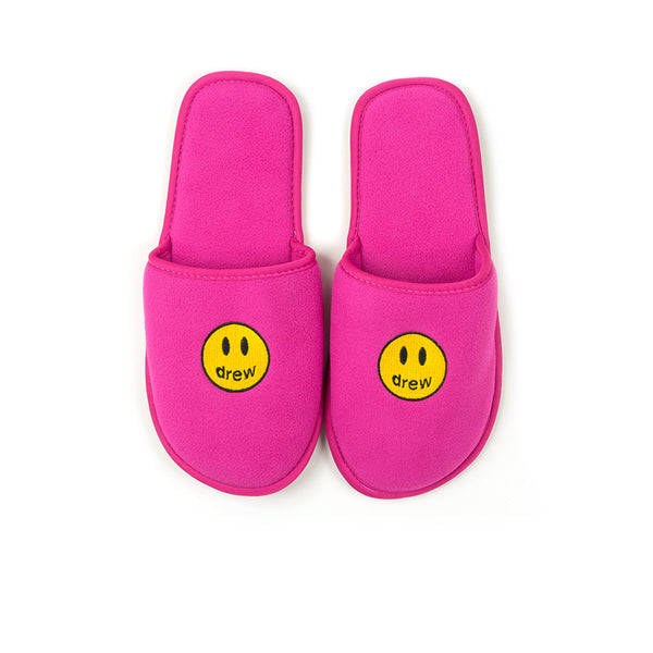 DREW HOUSE MASCOT SLIPPERS PINK
