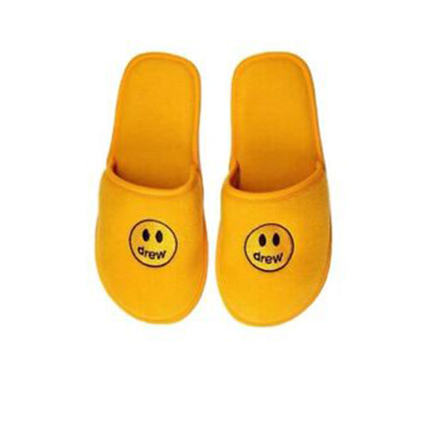 DREW HOUSE MASCOT SLIPPERS YELLOW
