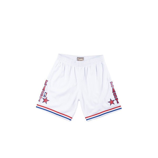 MITCHELL & NESS NBA HARDWOOD CLASSIC SWINGMAN 88 ALL STAR EAST SHORTS WHITE