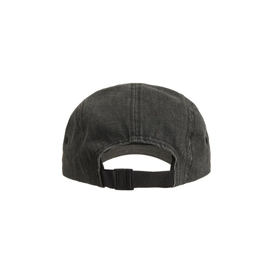 SUPREME EMBOSSED DENIM CAMP CAP BLACK SS20