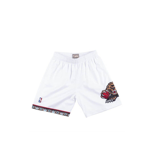 MITCHELL & NESS NBA HARDWOOD CLASSIC VANCOUVER GRIZZLIES 1998-99 SWINGMAN SHORTS WHITE