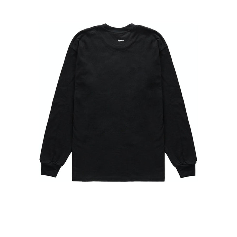 SUPREME HARVEST L/S TEE BLACK FW20