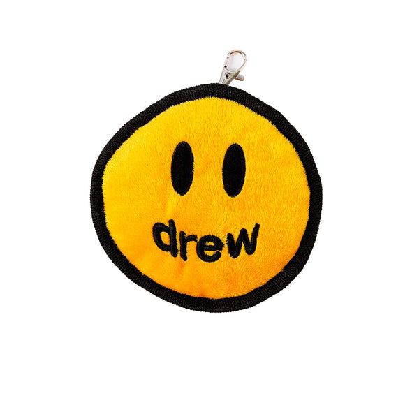 DREW HOUSE MASCOT PLUSH KEYCHAIN YELLOW