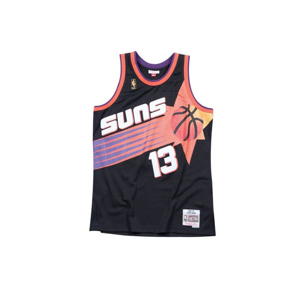 MITCHELL & NESS NBA HARDWOOD CLASSIC SWINGMAN PHOENIX SUNS STEVE NASH 1996-97 ALTERNATE JERSEY BLACK