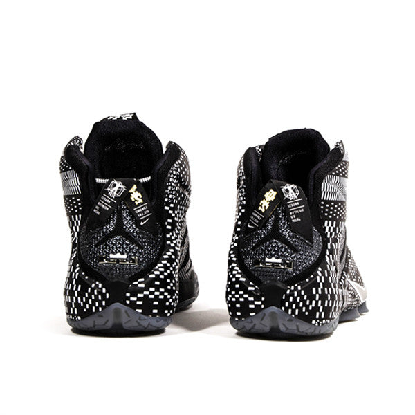 "NIKE LEBRON 12 ""BHM"" 718825-001 - Stay Fresh"