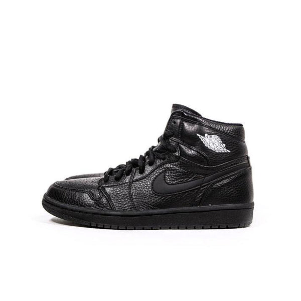 "AIR JORDAN 1 RETRO 2001 ""BLACK/METALLIC SILVER"" JP EXCLUSIVE 136060-002"