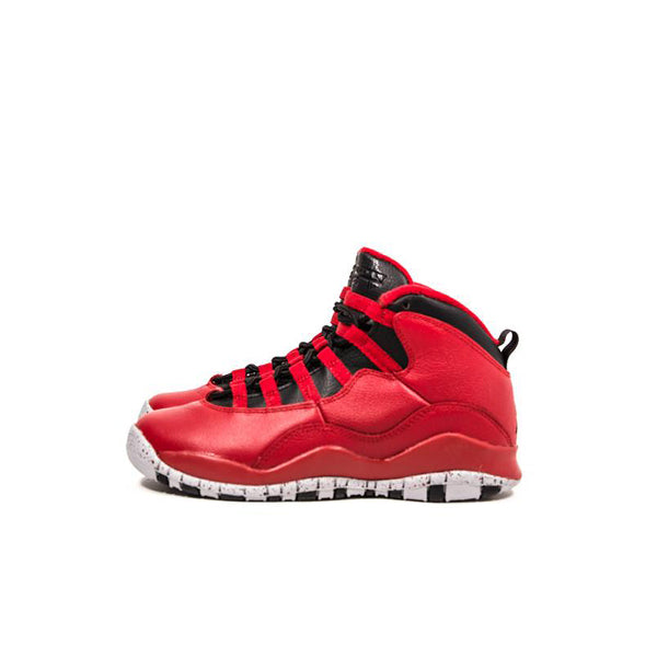 "AIR JORDAN 10 RETRO 30TH GS ""BULLS OVER BROADWAY"" 2015 705179-601"