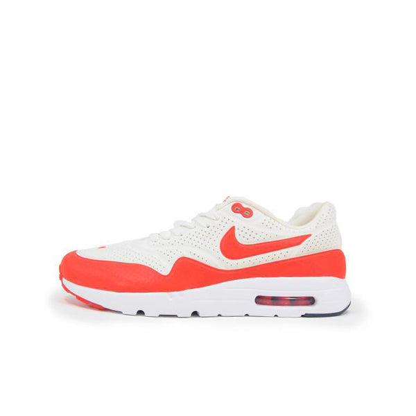 NIKE AIR MAX 1 ULTRA MOIRE SUMMIT WHITE CHALLENGE RED 705297-106