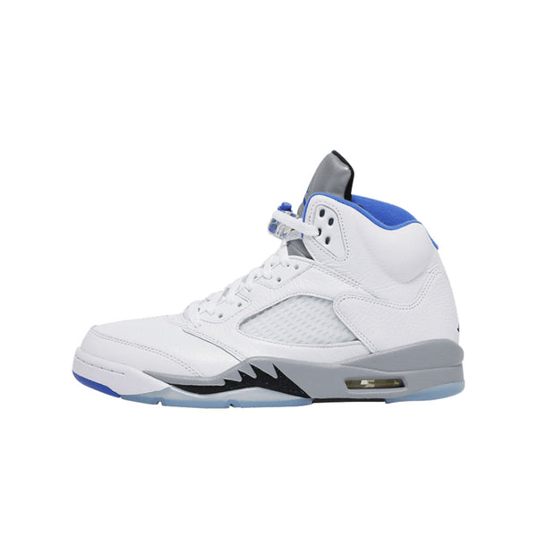 AIR JORDAN 5 RETRO WHITE STEALTH GS 2021