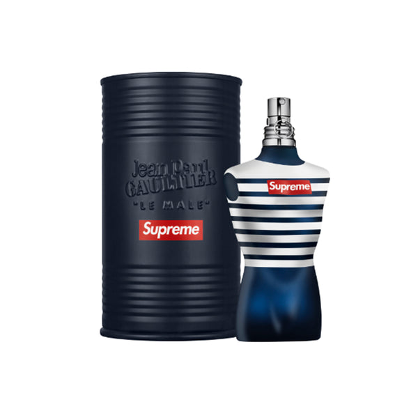 JEAN PAUL GAULTIER X SUPREME IN THE NAVY COLOGNE SS19