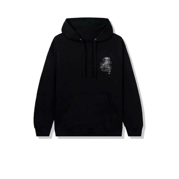 ANTI SOCIAL SOCIAL CLUB TWISTED HOODIE BLACK 2020