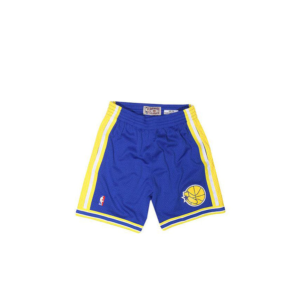 MITCHELL & NESS NBA AUTHENTIC GOLDEN STATE WARRIORS SHORTS ROYAL