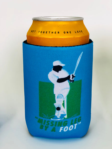 The Grade Cricketer Stubby Holder - Missing Leg by a Foot