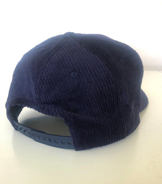 Hello Sport Midnight Blue Corduroy Cap