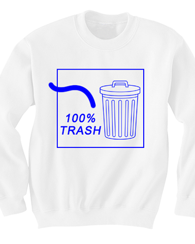 100% TRASH Sweater