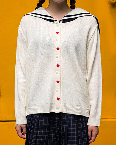 Sailor Hearts Sweater