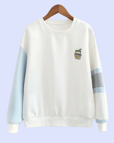 Banana Milk Sweater