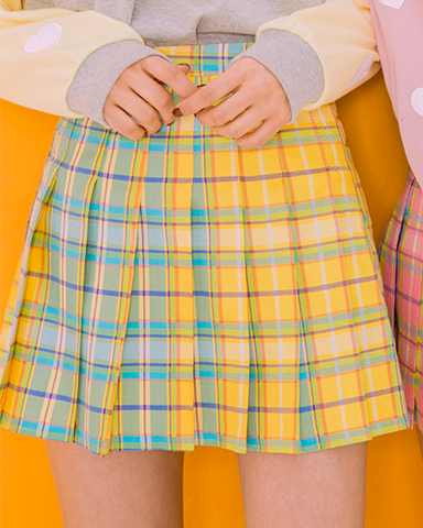 LOW STOCK Candy Colored Tennis Skirts