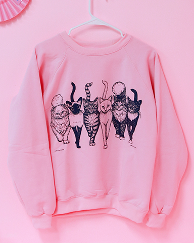 Cat Lady Sweater